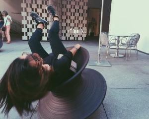 Spinning on a Spun Chair